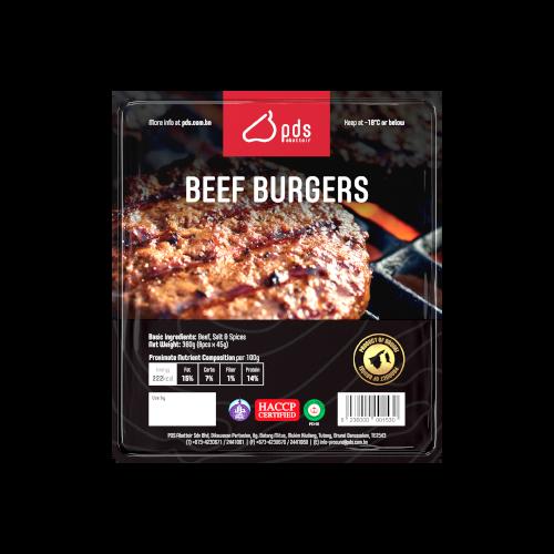 PDS Beef Burger (8 Pcs)